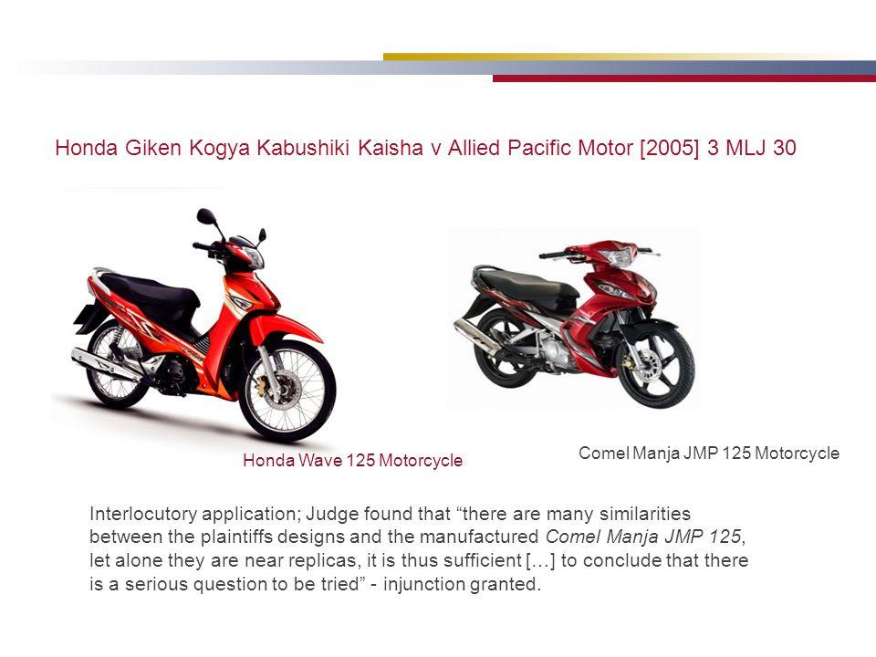 Honda Giken Kogya Kabushiki Kaisha v Allied Pacific Motor [2005] 3 MLJ 30